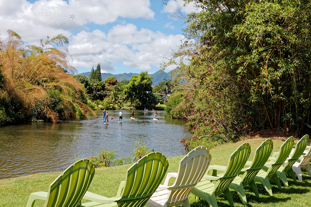 Relax along the river at Tsue's Farm