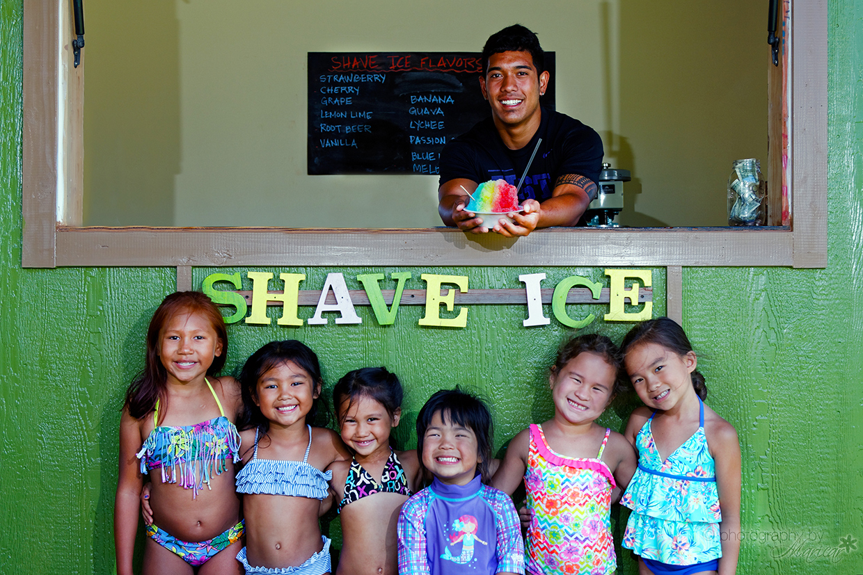 Cool off with some delicious Hawaiian Shave Ice